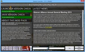 launcher asterion